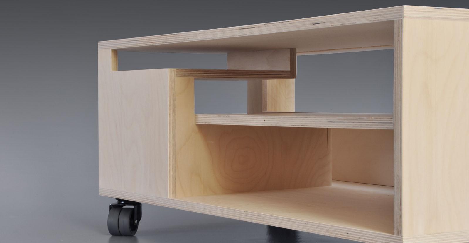 Kleine Tv Meubel : Thomas durner works klein tv meubel met perspectief